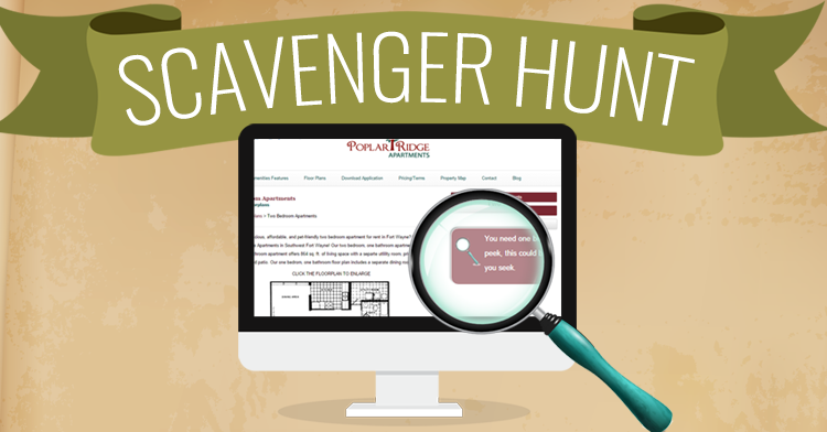 online scavenger hunt Over a dozen internet scavenger hunts and internet treasure hunts,  doing an online treasure hunt is a great way to learn about searching the net and get internet.